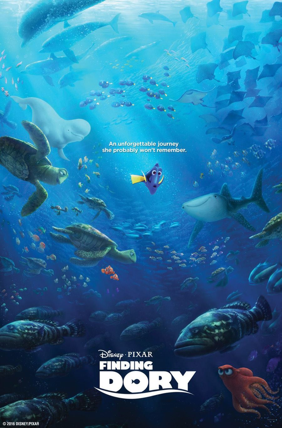 August Movie Finding Dory